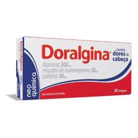 Doralgina - 20 drágeas