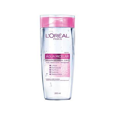 Água Micelar L'Oréal Paris - Solução De Limpeza 5 Em 1 | 200ml
