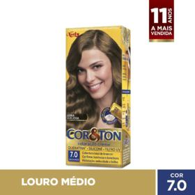 Tintura Niely Cor&Ton - 7.0 Louro Médio | 125g