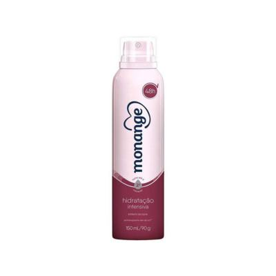 Desodorante Aerossol Antitranspirante Monange Feminino - Hidratação Intensa   150ml