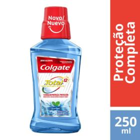 Enxaguante Bucal Colgate Total 12 - Clean Mint | 250ml
