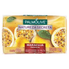 Sabonete em Barra Glicerinado Palmolive Natureza Secreta - Maracujá Tropical   90g