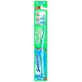 Escova Dental Sorriso Tripla 123 - Macia   1 unidade