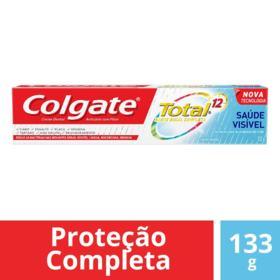 Creme Dental Colgate - Total 12 Saúde Visível   133g