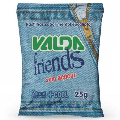 Pastilhas Valda Friends - Sem Açúcar | 25g