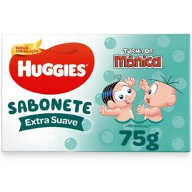 Sabonete em Barra Huggies Turma da Mônica - Extra Suave | 75g