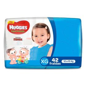 Fralda Huggies Tripla Proteção - XG | 42 unidades