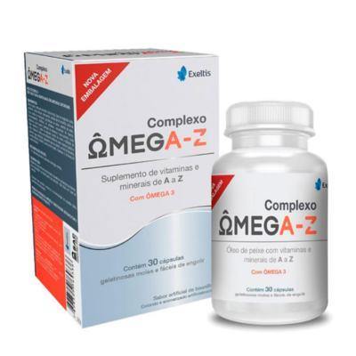 Complexo Ômega - A-Z | 30 cápsulas