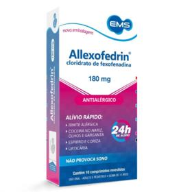 Allexofedrin - 180g | 10 comprimidos