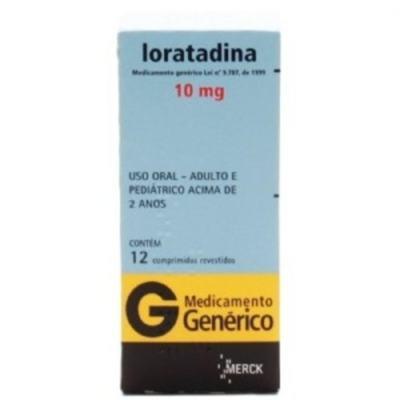 Loratadina Xarope Genérico Merck - 1mg/ml | 100ml