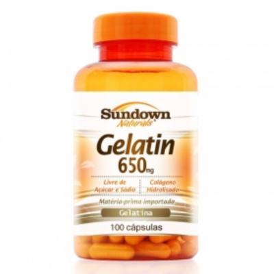 Gelatina Sundown - 565mg | 100 cápsulas