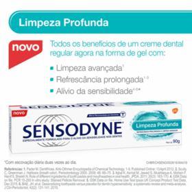 Creme Dental Sensodyne - Limpeza Profunda | 90g