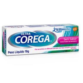 Creme Fixador de Dentadura Corega Ultra - Sem Sabor | 19g