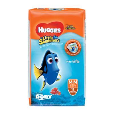 Fralda para Piscina Huggies Little Swimmers - M | 11 unidades