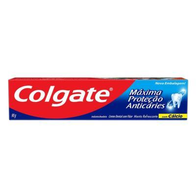 Creme Dental Colgate - Máxima Proteção Anticáries | 90g
