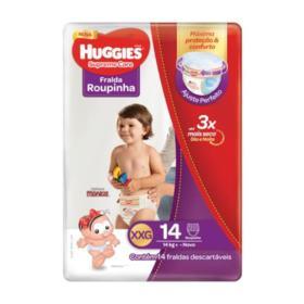 Fralda Roupinha Huggies Supreme Care - Jumbo XXG   14 unidades