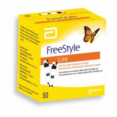 Tiras-Teste FreeStyle Lite - 50 unidades
