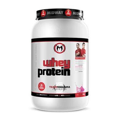 Whey Protein Midway Team Nogueira - Chocolate | 900g