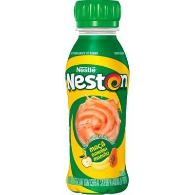 Bebida Láctea Neston Fast - Maçã, Banana e Mamão | 280ml