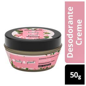 Desodorante Creme Beauty & Planet Pampering - Manteiga de Murumuru e Rosa | 50g
