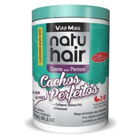 Natu Hair Creme Para Pentear - Cachos Perfeitos   1kg