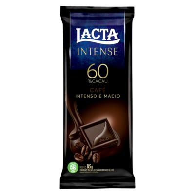 Lacta Chocolate INtense - Cacau & Café | 85g