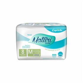 Fralda Geriátrica Maturi Care - Tamanho M   8 Unidades