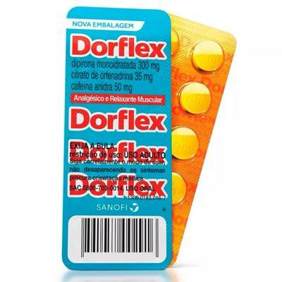 Dorflex - 300mg + 35mg + 50mg | 10 comprimidos
