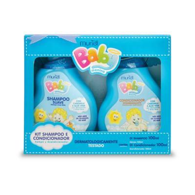 Kit Baby Muriel - Menino   1 kit   Shampoo e Condicionador 100mL