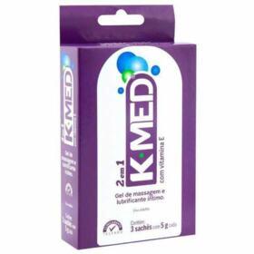 K-Med Gel de Massagem Intimo - Lubrificante 2 em 1   15g