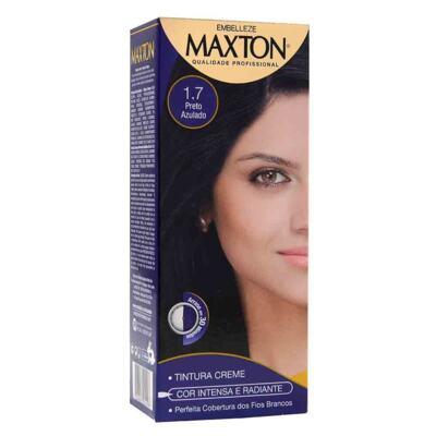 Maxton Creme Coloração - Preto Azulado 1.7   1 unidade