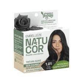 Tintura Natucor - 1.01 Rosa Negra   1 unidade