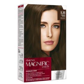 Coloração Creme Amend Magnific Color - 5.35 Chocolate Intenso | 1 Kit