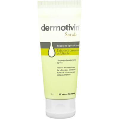 Esfoliante Facial Dermotivin Scrub - 60g