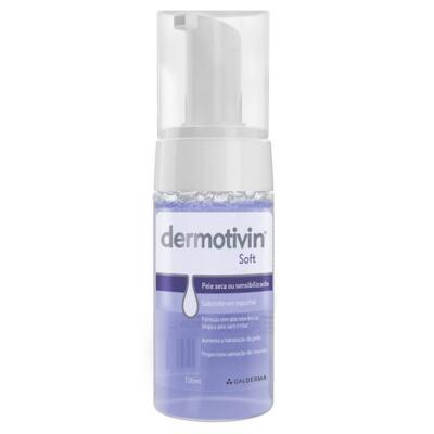 Sabonete Facial em Espuma Dermotivin Soft - Pele Seca ou Sensível | 130mL