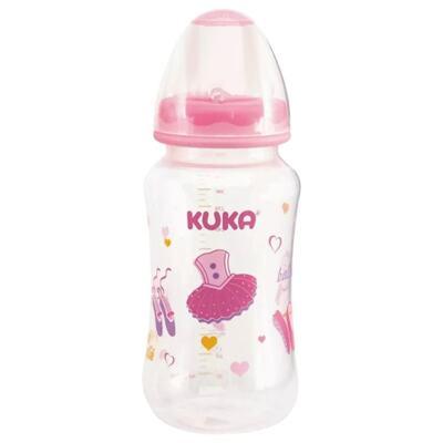 Mamadeira Kuka Natural Plus - 6+ meses, big, rosa   1 unidade