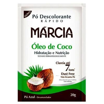 Marcia Pó Descolorante - Óleo de Coco | 20g