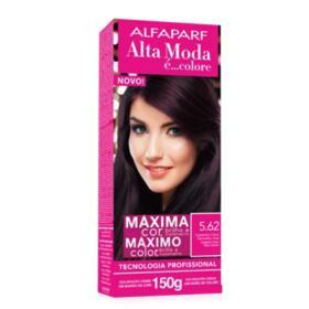 Tintura Colore Alfaparf Alta Moda - 5.62 Castanho Claro Vermelho Irisé   150g