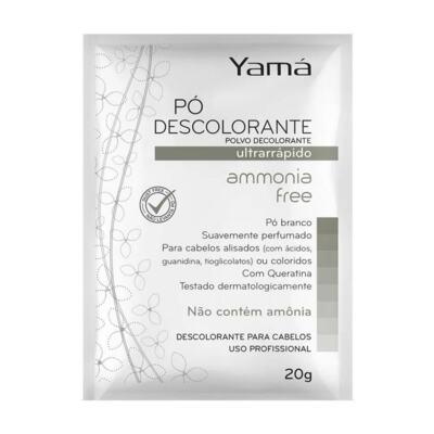Pó Descolorante Ammonia Free, Yama - Branco | 20g