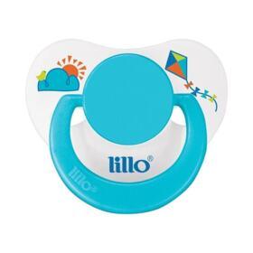 Lillo Chupeta Divertida Ortodôntica Silicone - Azul | 1 unidade