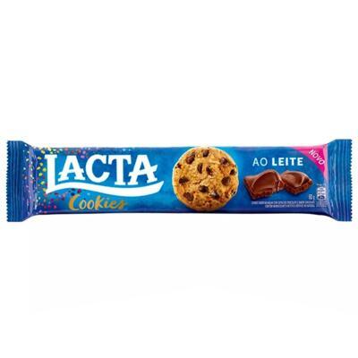 Lacta Cookies Biscoito - Ao Leite | 80g