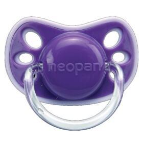 Chupeta Neopan Neo - nº2 universal silicone cor lilás   1 unidade