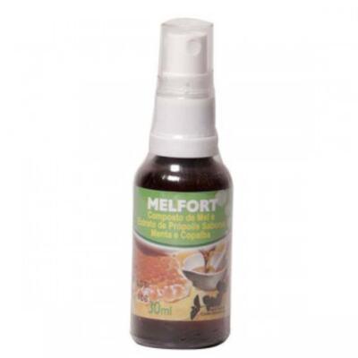 Composto de Mel e Extrato de Própolis Melfort - Spray | 30mL