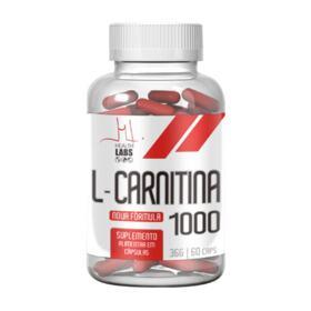 L-Carnitina Health Labs - 1000mg | 60 cápsulas