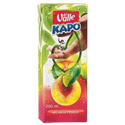 Suco Kapo Del Valle - sabor pêssego,   200mL