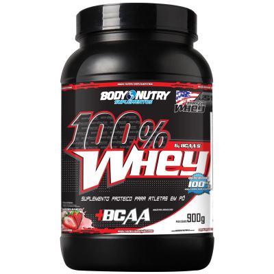 100% WHEY 900G - BODY NUTRY