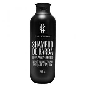 Shampoo de Barba Cia Da Barba - Shampoo para Barba - 200ml