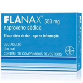 Flanax 550mg 10 comprimidos