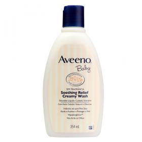 Sabonete Líquido Aveeno Baby -  Soothing Relief Cuidado Intensivo - 354ml