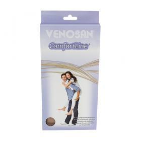 Meia Coxa AGH 30-40 Comfortline Venosan - PONTEIRA ABERTA LONGA BEGE P
